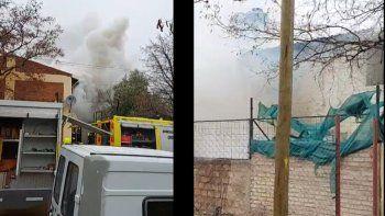 tragedia: un adolescente murio tras un incendio en su casa