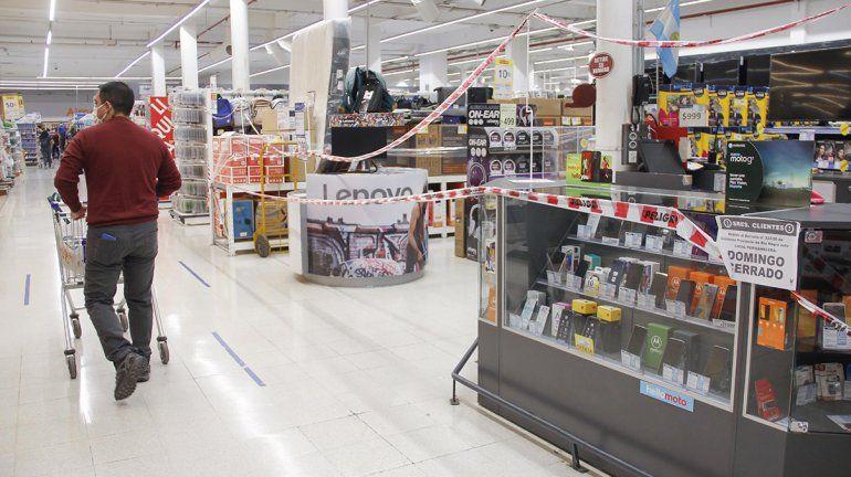 Alarma por casos de coronavirus en supermercados