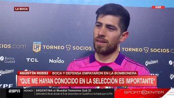 El regalo soñado que Messi le hizo al arquero de Boca