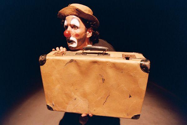 Espectáculo de clown y mimo en la Caja Mágica