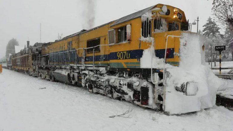 Un receso invernal récord para el Tren Patagónico