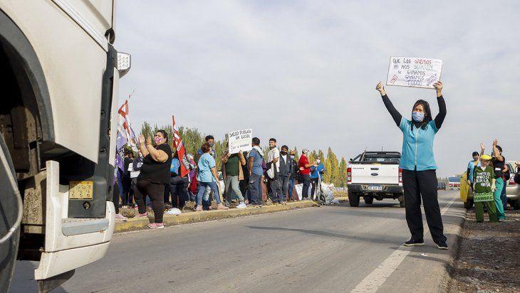 Pereyra: Pedimos que liberen las rutas, no represión