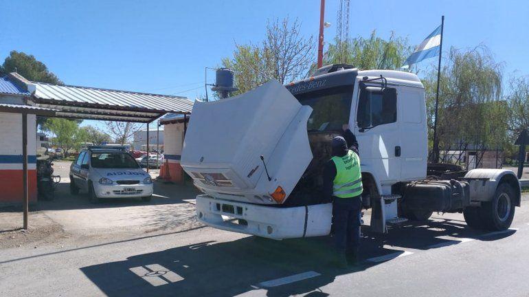 Secuestraron un camión que había sido robado en Buenos Aires