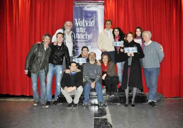 Se estrena en el Centro Cultural Volvió una noche, del Teatro Nacional Cervantes