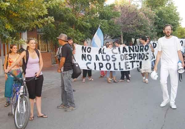 Llamativa y reprochable protesta