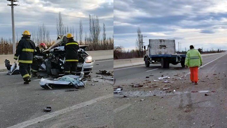 Identificaron al hombre que murió en el brutal accidente sobre la Ruta 22