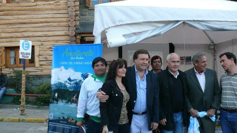 Promocionaron la Vuelta al Valle de ciclismo en Bariloche