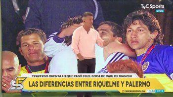 Video: Traverso lloró por la pelea Riquelme-Palermo y confesó viejas trampitas
