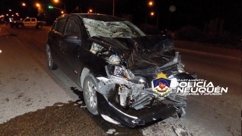 Dos chicas pelean por su vida tras ser embestidas por un conductor borracho