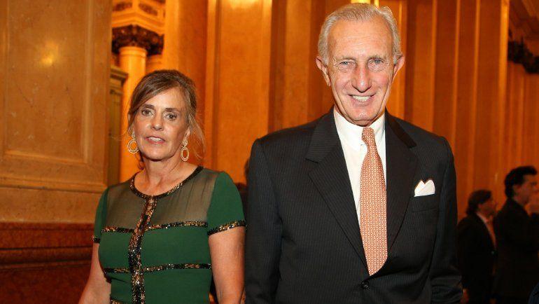 En la foto Jorge Neuss y su esposa Silvia Saravia.visibility