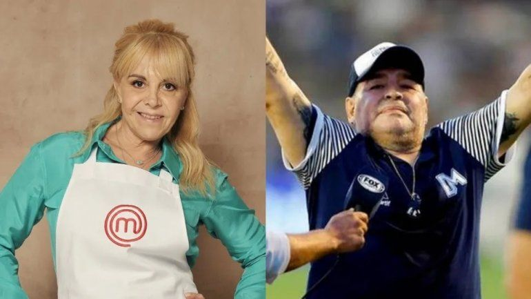Claudia se baja de Master Chef tras la muerte de Maradona