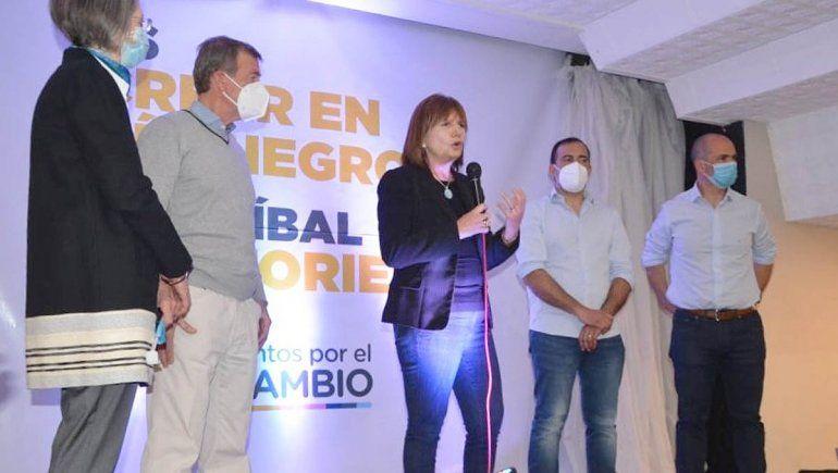 Patricia Bullrich llega a Cipolletti para impulsar a Tortoriello