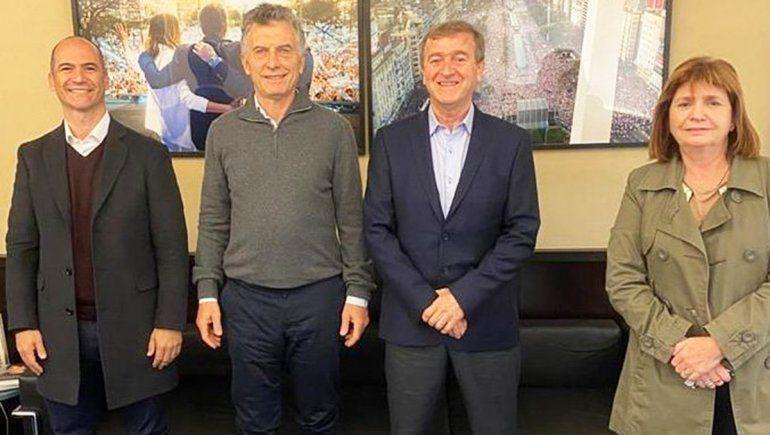 Tortoriello recibió el respaldo de Macri, Bullrich y Pichetto