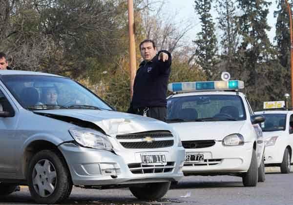 Varios autos dañados por siniestros