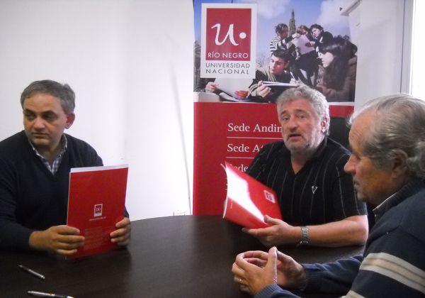 Aguas Rionegrinas y la UNRN celebraron convenio