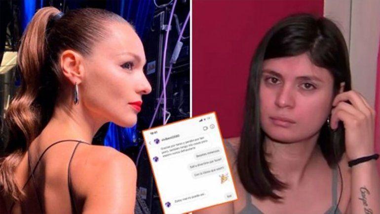 Pampita cruzó en vivo a su ex niñera: Es una desgraciada
