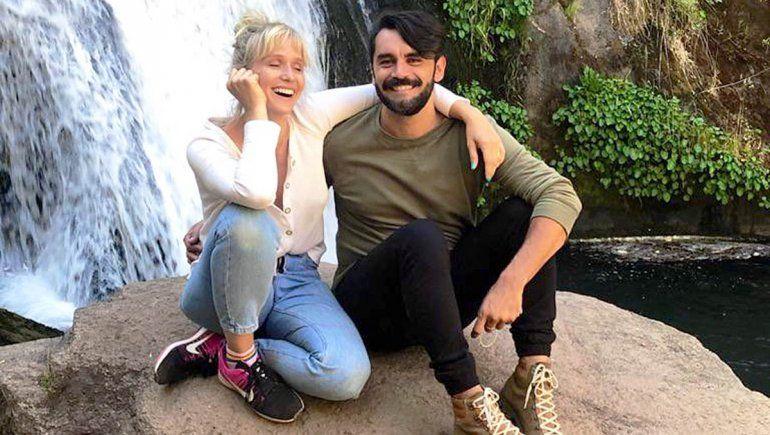 Las románticas vacaciones de Brenda Gandini y Gonzalo Heredia en la cordillera