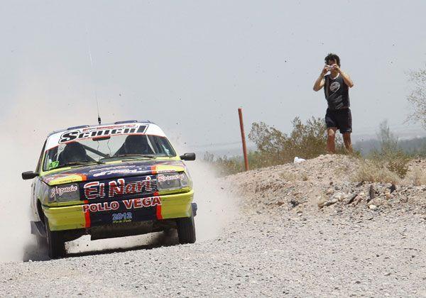 Debasa ganó la primera etapa en Allen