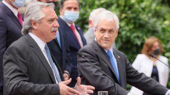 Alberto Fernández en Chile: entredicho por el tema Venezuela