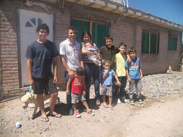 Séptimo hijo varón de familia orense tendría como madrina a CFK