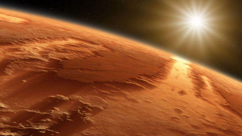Mirá las mejores imágenes del robot de la NASA en Marte