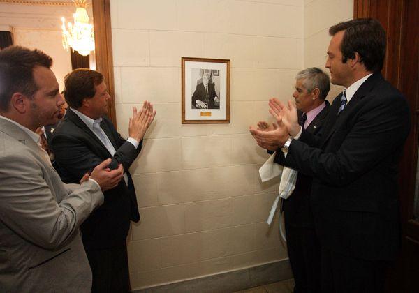 Se conmemoró el primer aniversario de la asunción de Carlos Soria