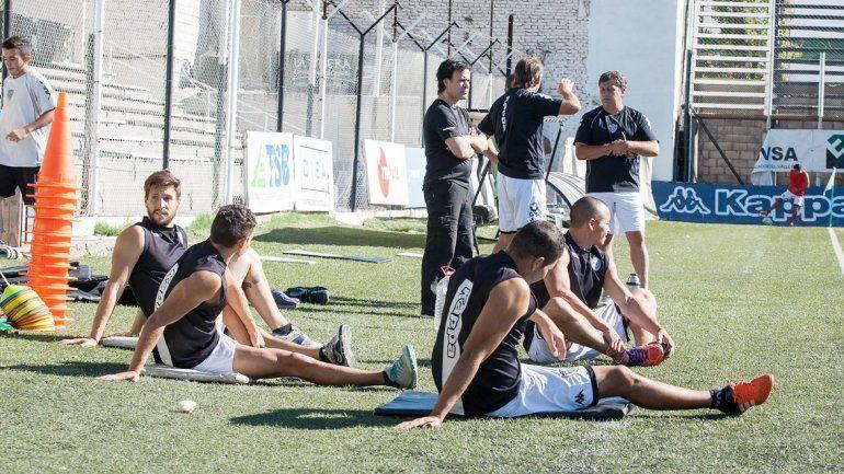 Cipo volvió ayer a los entrenamientos tras la eliminación de la Copa Argentina.
