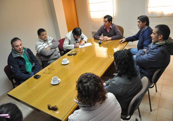 Mesas de trabajo entre Sitramuci y la Municipalidad