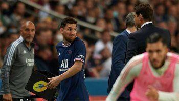 La furia de Messi con Pochettino por el cambio y los memes