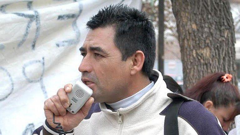 El gremialista Omar Meza destacó las reivindicaciones laborales.