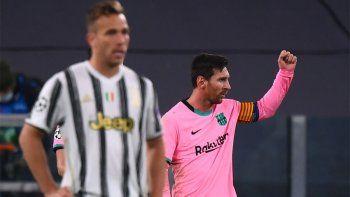 Con Messi como figura, Barcelona derrotó a Juventus