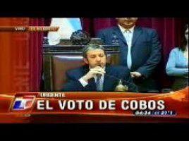 Cuatro años del voto no positivo de Cobos