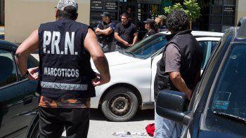 La Policía refuerza la tarea preventiva contra el narcotráfico.