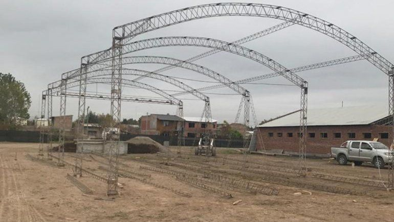 Iniciaron los trabajos de construcción del nuevo hospital de Fernández Oro