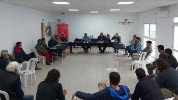 Productores participaron de reuniones por seguridad