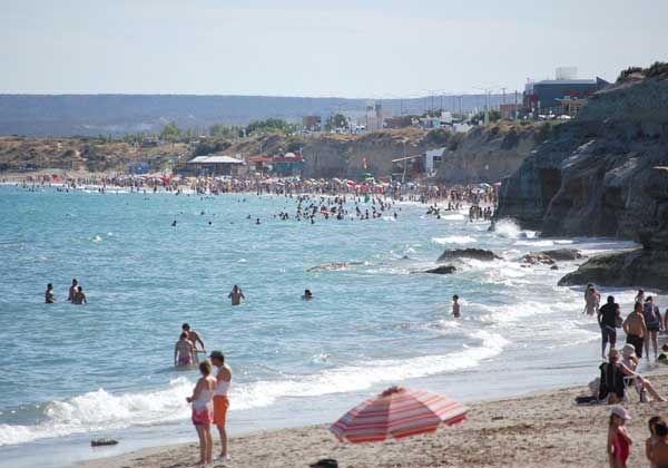 Hay menos turistas en Las Grutas que el año pasado