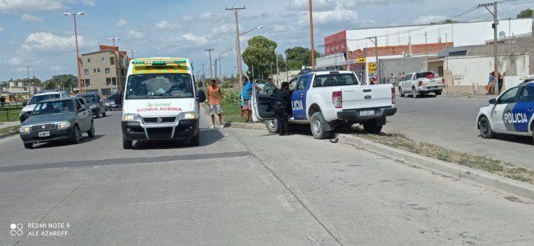 El impacto fue en la calle Juan de la Piedra.