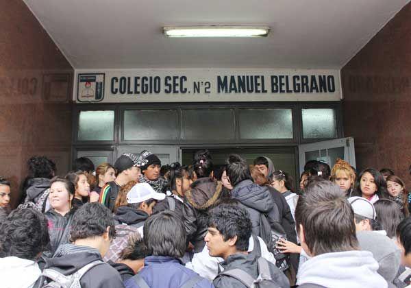 Alumnos exigieron más seguridad