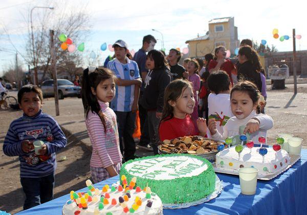 El barrio La Paz festejó el Día del Niño