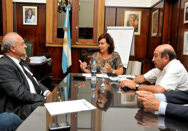 Campos Bilbao recibió al Ministro de la Producción