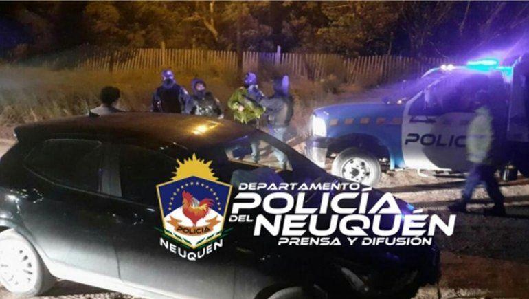 Manejaba borracho y volcó: terminó en el calabozo