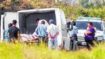 El cadáver fue llevado a la morgue donde se le realizó la autopsia