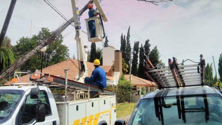 Este domingo cortarán la luz por trabajos de mantenimiento