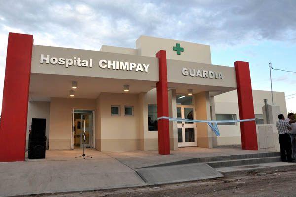 Saiz inauguró las obras de ampliación y remodelación del Hospital de Chimpay