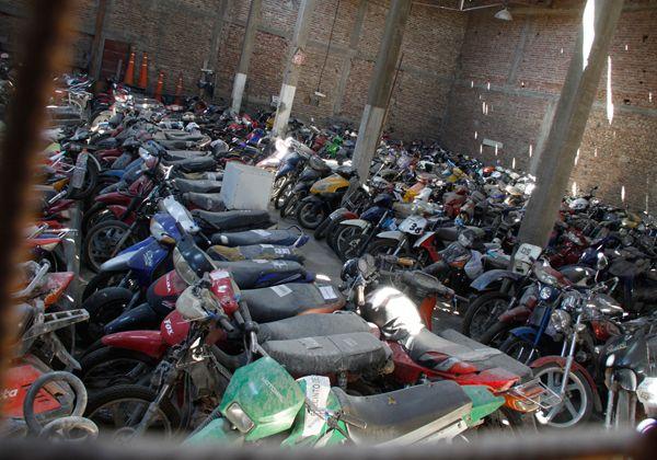Condenado por comprar moto robada
