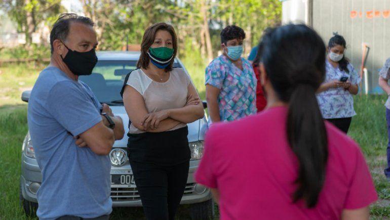 Carreras visitó el hospital de Campo Grande