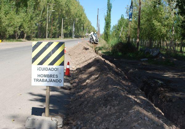 Reinician trabajos para llevar el gas a zona rural en Oro