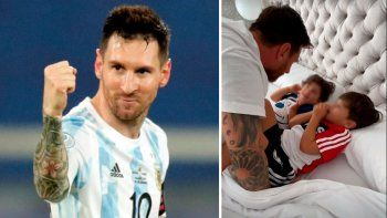 El tierno saludo de Antonela para Lio Messi en el Día del Padre