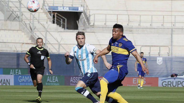 Racing venció por penales a Boca, que no podrá ser tricampeón, y es finalista