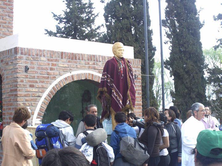 Preparativos en Chimpay para recibir a los devotos de Ceferino